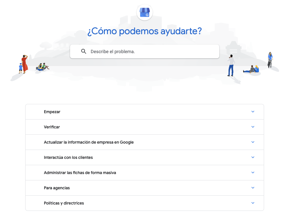 centro asistencia google my business